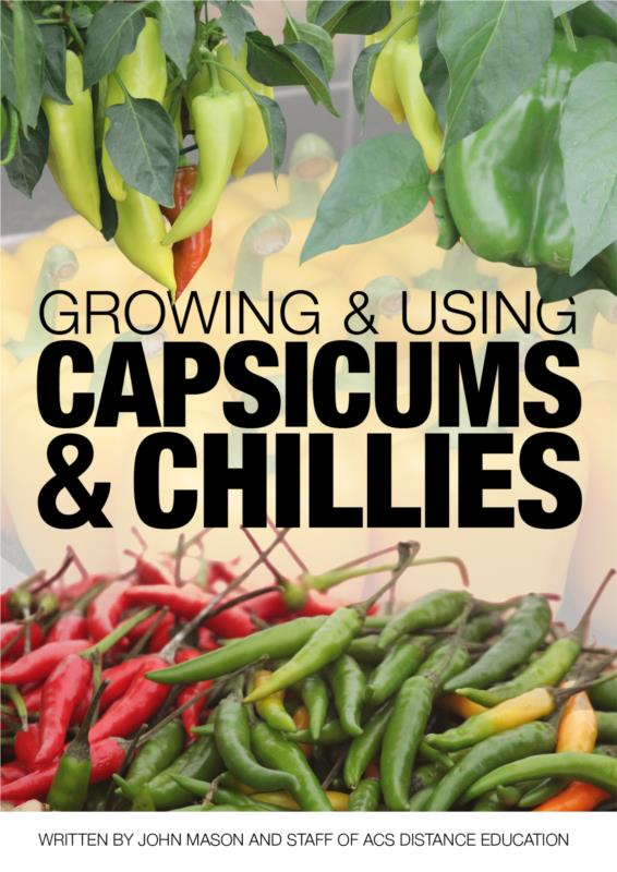 Growing & Using Capsicums & Chillies- PDF Ebook